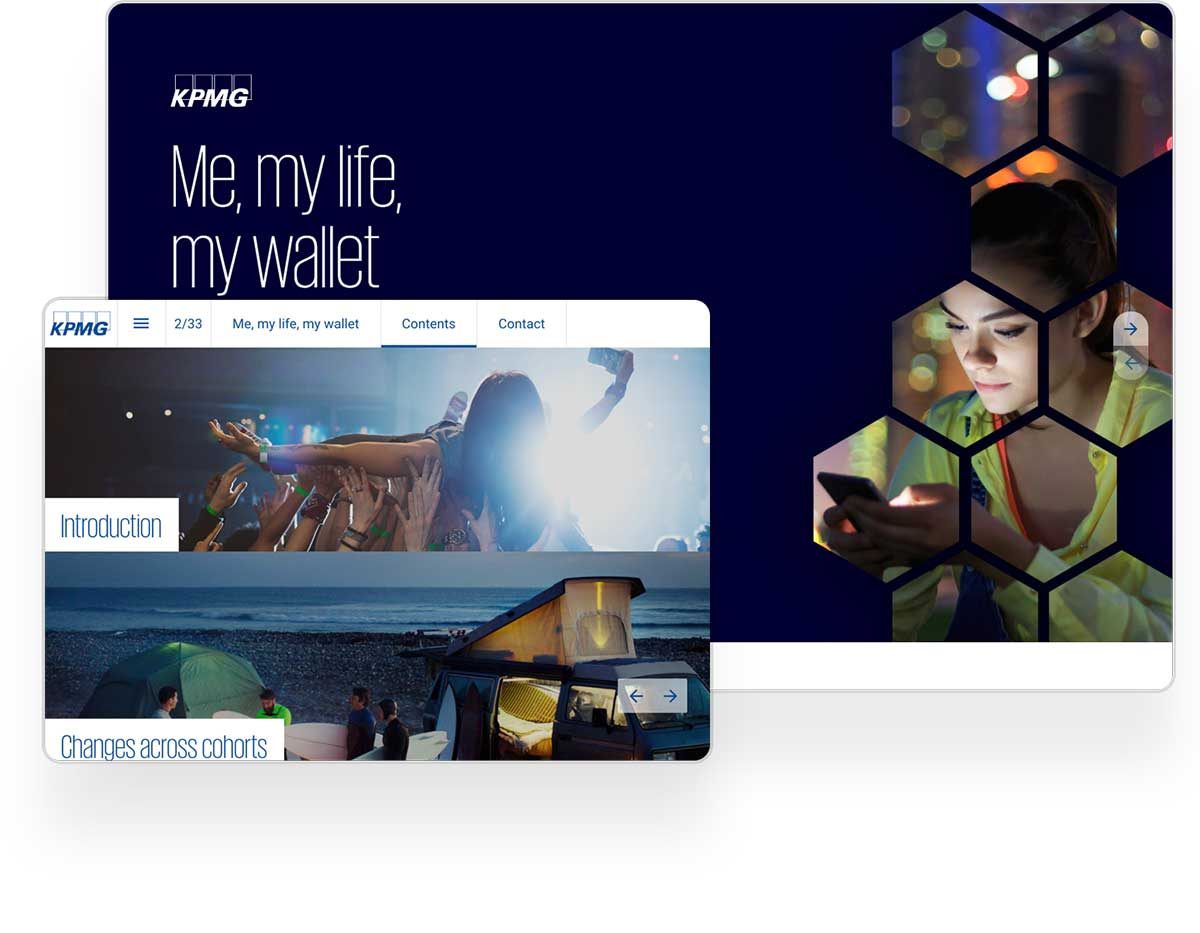 KPMG web publication example