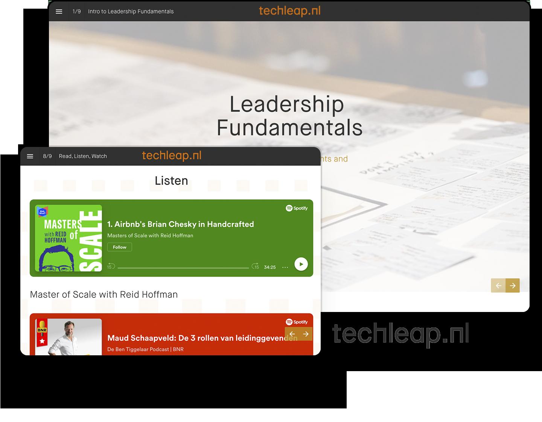 Techleap leadership fundamentals guide