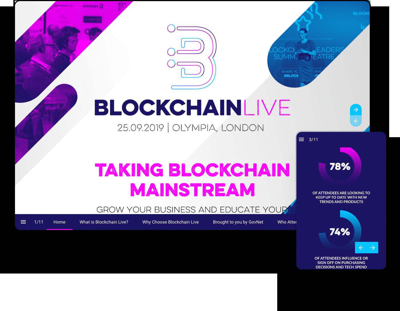 Interactive-Online-Event-Magazine-blockchain