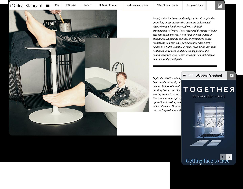 Interactive Product Showcase Magazine Example