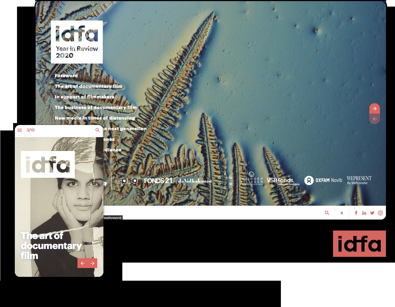 interactive brochure example idfa