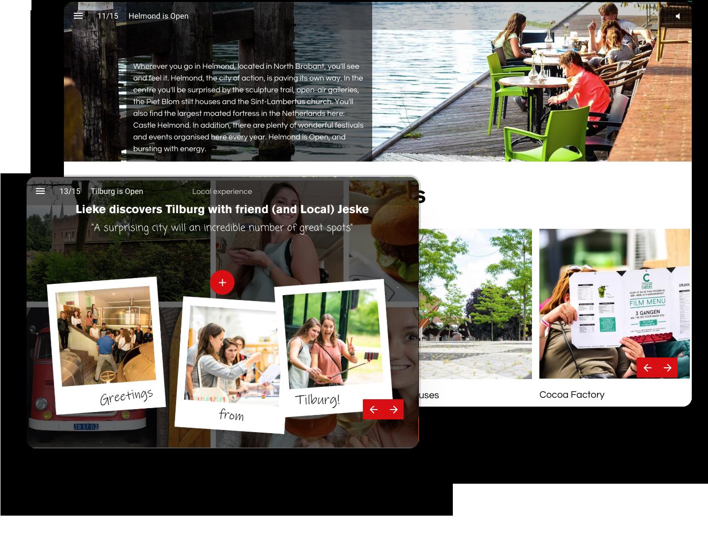 Visit Brabant Interactive Brochure Example