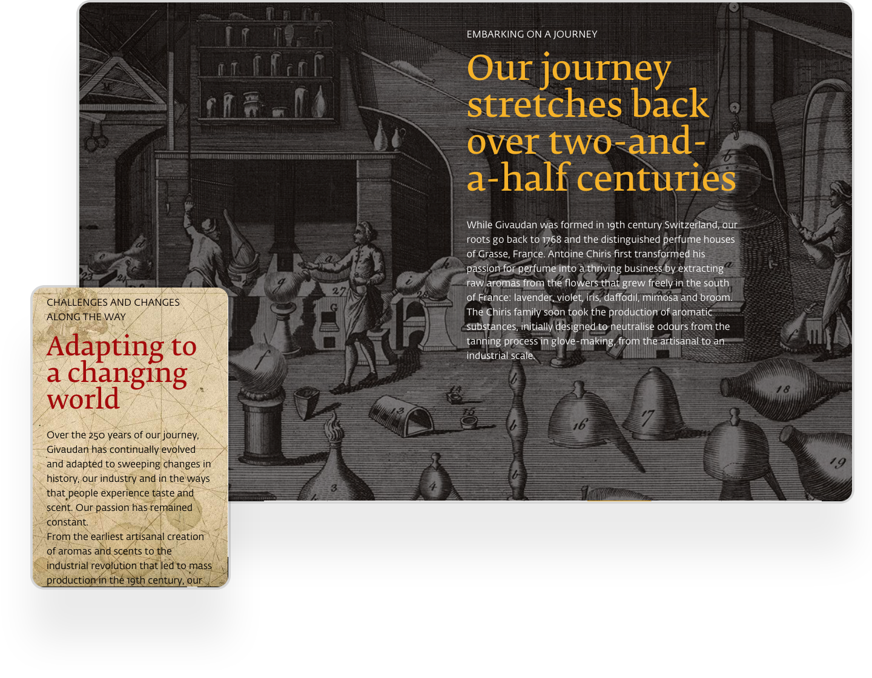 Givaudan Interactive Online Magazine Example