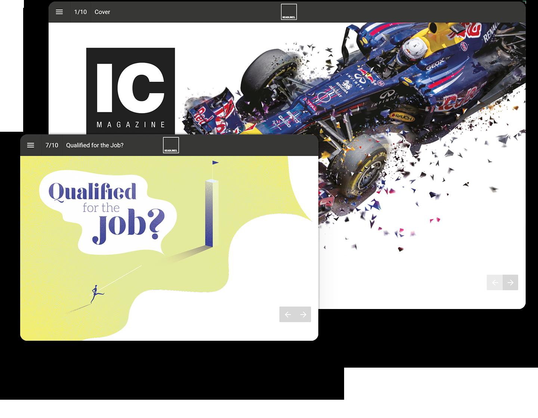Headlines UK Interactive Magazine Example
