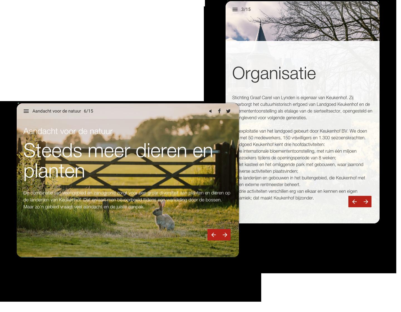 Keukenhof Interactive Magazine Example