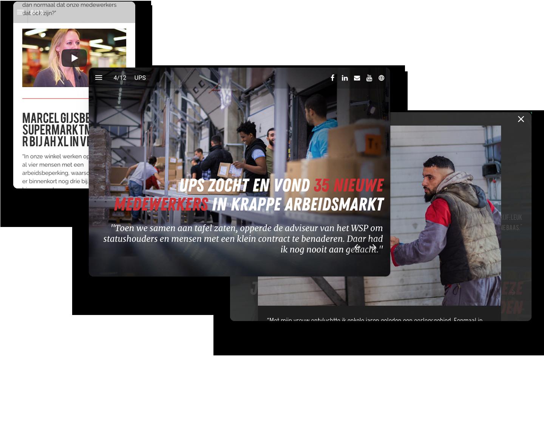 WSP Noord-Limburg Interactive Magazine Example