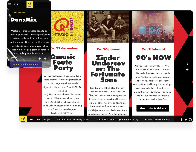 Agenietenhof Interactive Newsletter Example