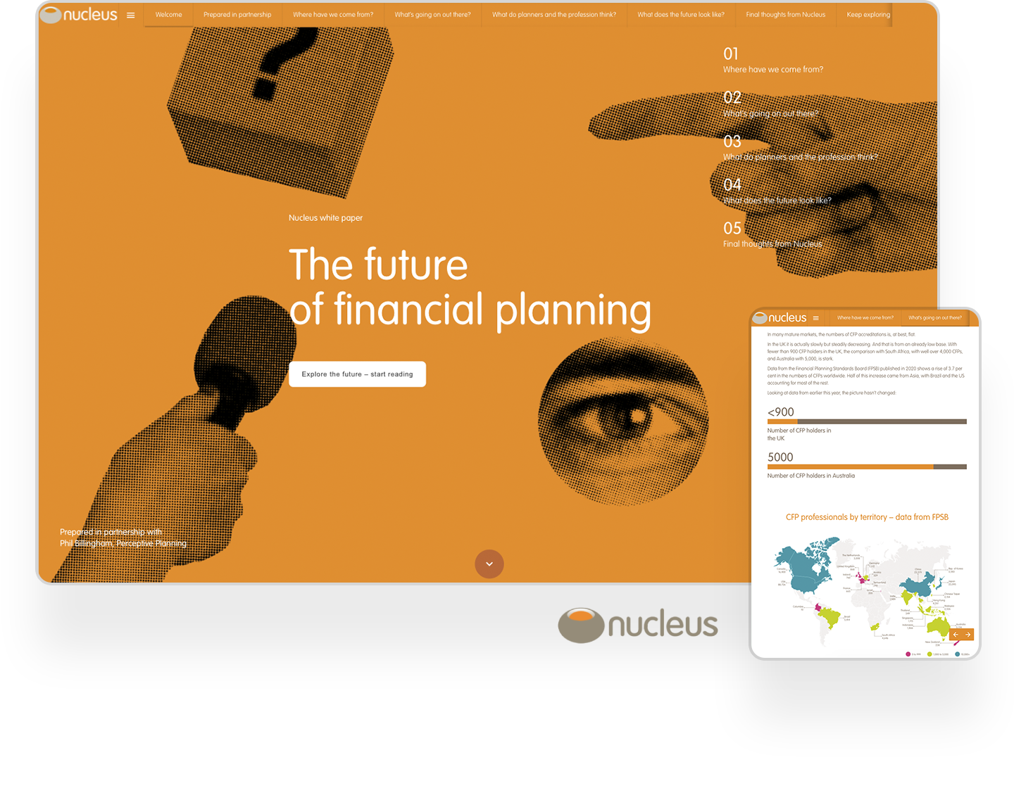 nucleus financial interactive white paper