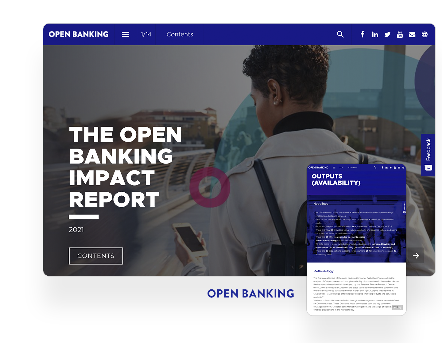 open banking impact report example