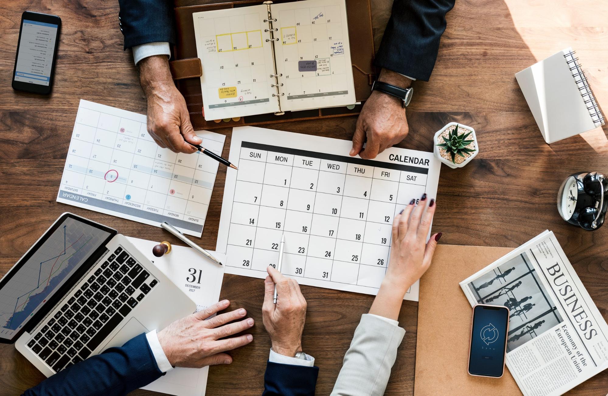 Content Marketing Strategy Calendar