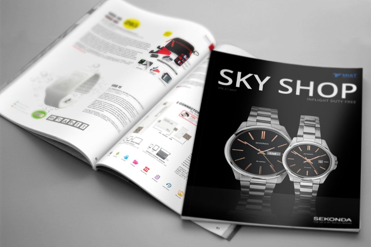 Duty free magazine