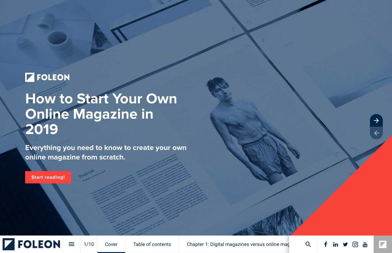 How to start your own online magazine