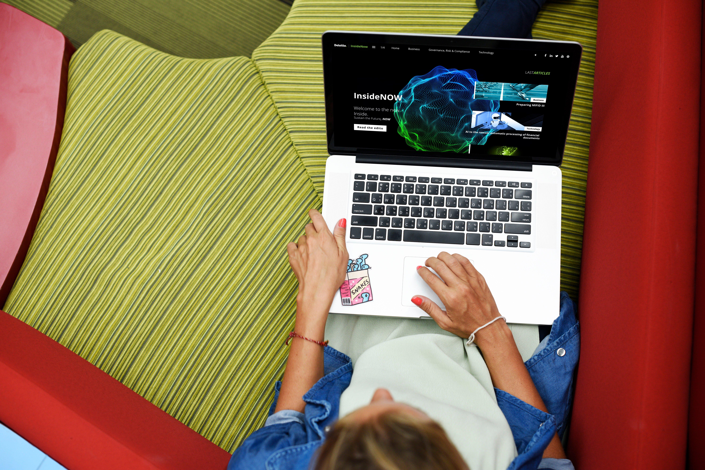 Deloitte interactive content hub