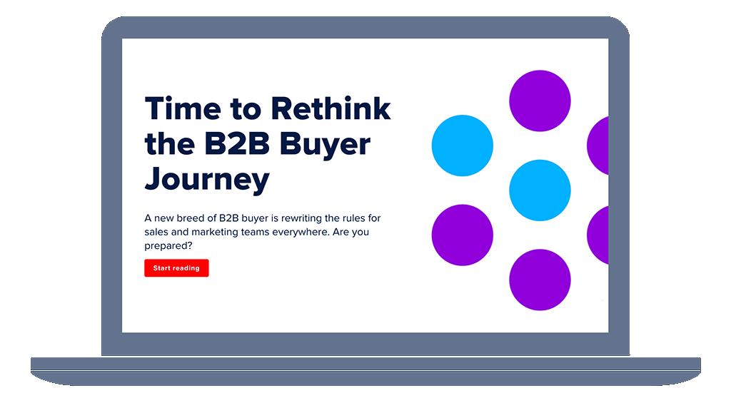 b2b buyer journey report