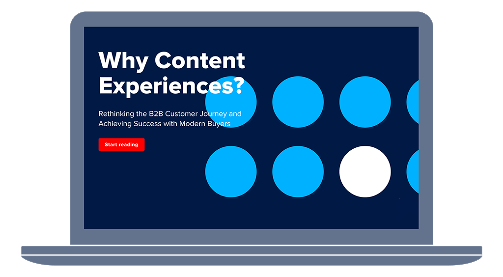 why content experiences matter ebook
