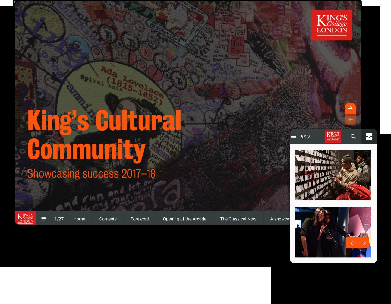 interactive-online-magazine-example-kingscollege