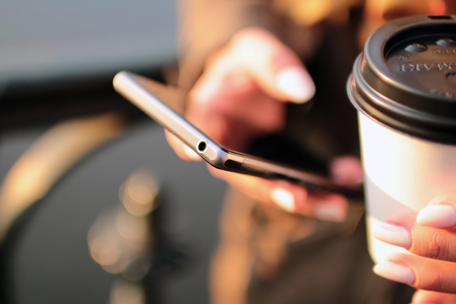 Mobiel heb je ook in je handen