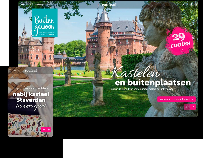 Waarom 95% van de lezers van route.nl deze interactieve content aan anderen zou aanraden