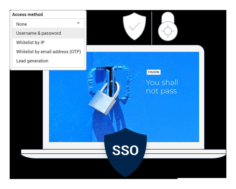 ISO 27001 webpage visual