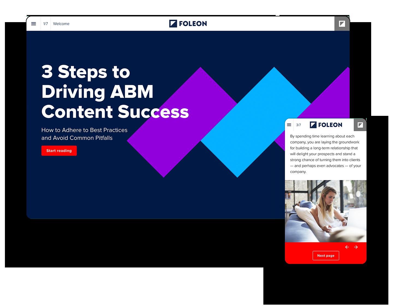3 Steps ABM Content Success