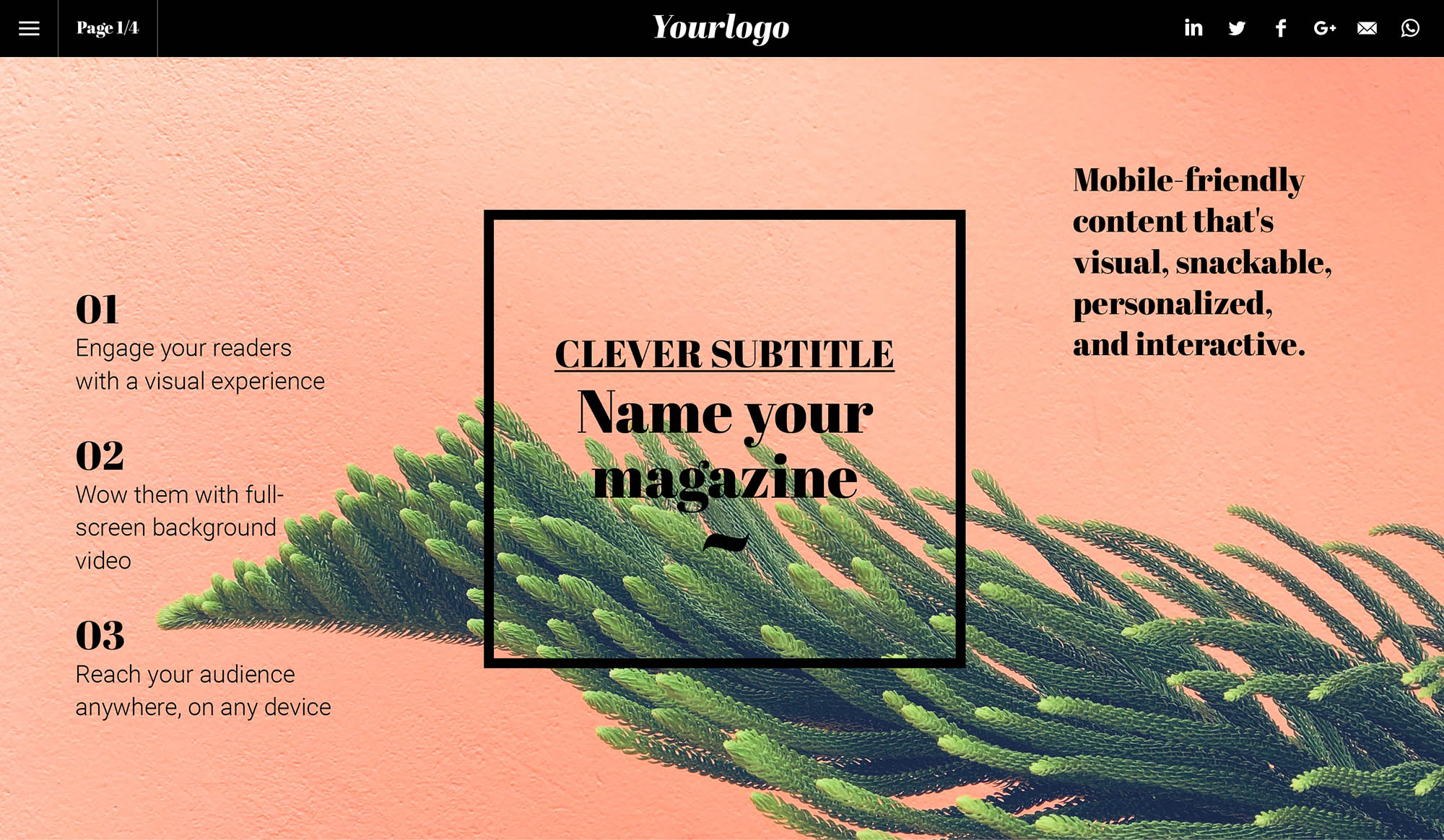 magazine-template-cover